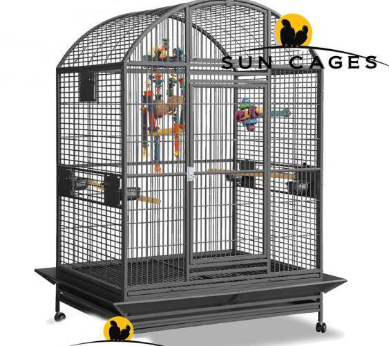 cage gd castel perroquet cages perroquets d 39 levage. Black Bedroom Furniture Sets. Home Design Ideas